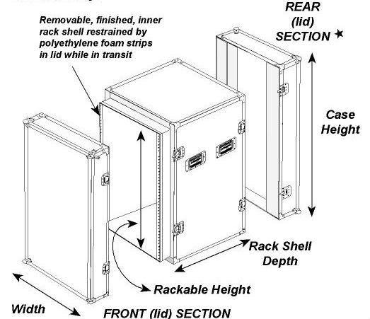 Rk Aluminum Rack Case,10u Slant Mixer Rack/12u Mixer Rack Cases - Buy 12u  Mixer Rack Cases,16u Rack Mount Case,Amp Rack Flight Case Product on