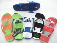 rainbow seaside slippers flip flops