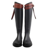 New European Style Women Over Knee Rain Boot - Buy European Style ...