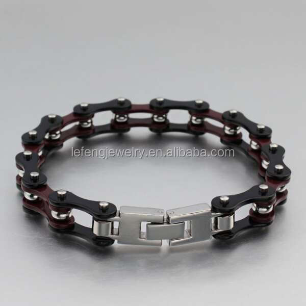 Cool Stainless Steel Clasp Mens Motorcycle Bracelet Jewelry Bracelets For Boys