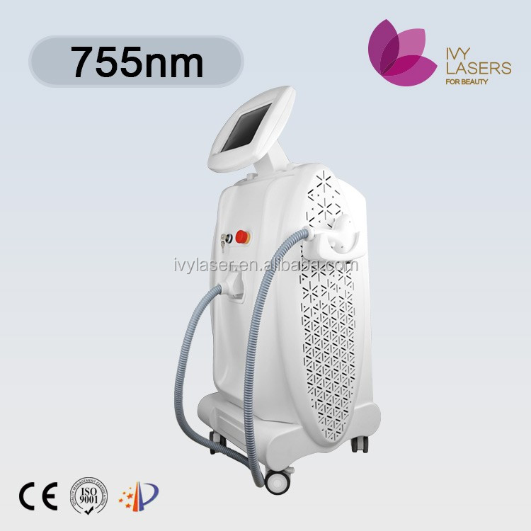 2000W strong Power!! 808nm diode laser hair removal machines / alexandrite laser 755nm hair removal