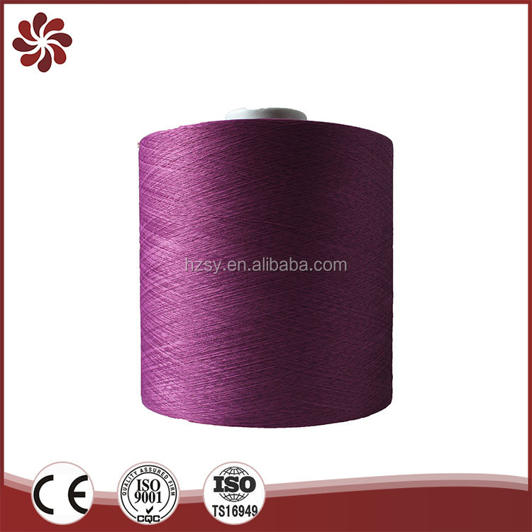 Import Textured Twisted Bobbin Dyed Dty Polyester Yarn