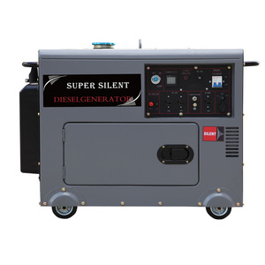 SHARK DG6500LDE Air Cooled portable super silent 5kw silent diesel generator 5kw dynamo prices