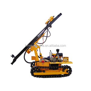 KZGYX-420S diesel and electric 60m depth, 110-203mm drill for drilling soil for bolting, casing pipe and foundation construction