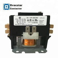 electronic components hvac refrigerator 40A ac electrical ac magnetic definite purpose contactor 24V air conditioning