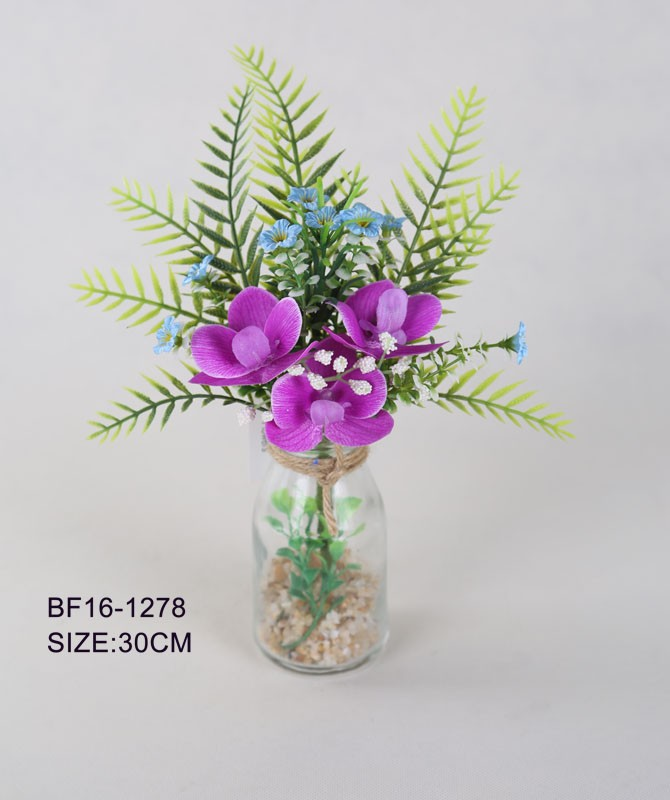 Home Decoration High Quality Artificial Orchid Flower Wholesale