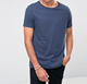 OEM Wholesale 100% Bamboo Clothing Men's Plain Crew Neck Bamboo T-Shirt