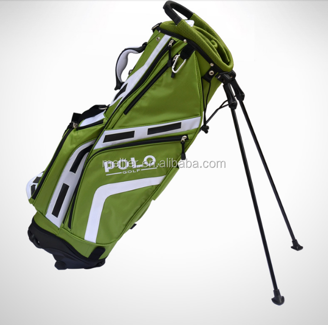 Atacado custom made staff golf stand bag