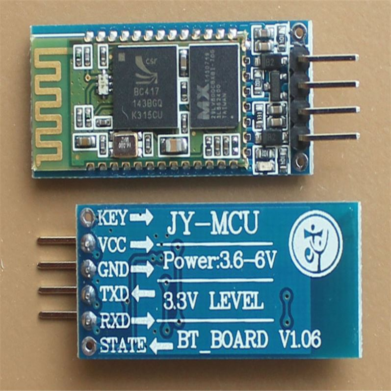 JY-MCU V1.06 HC-06 Wireless Serial 4 Pin Ble RF Transceiver Module RS232 TTL