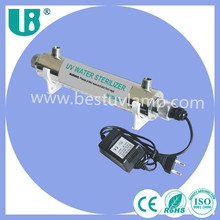 0.2T 12W ultraviolet uvc light sterilizer water uv sterilizer
