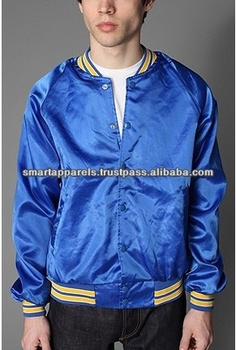 Girls satin bomber jackets