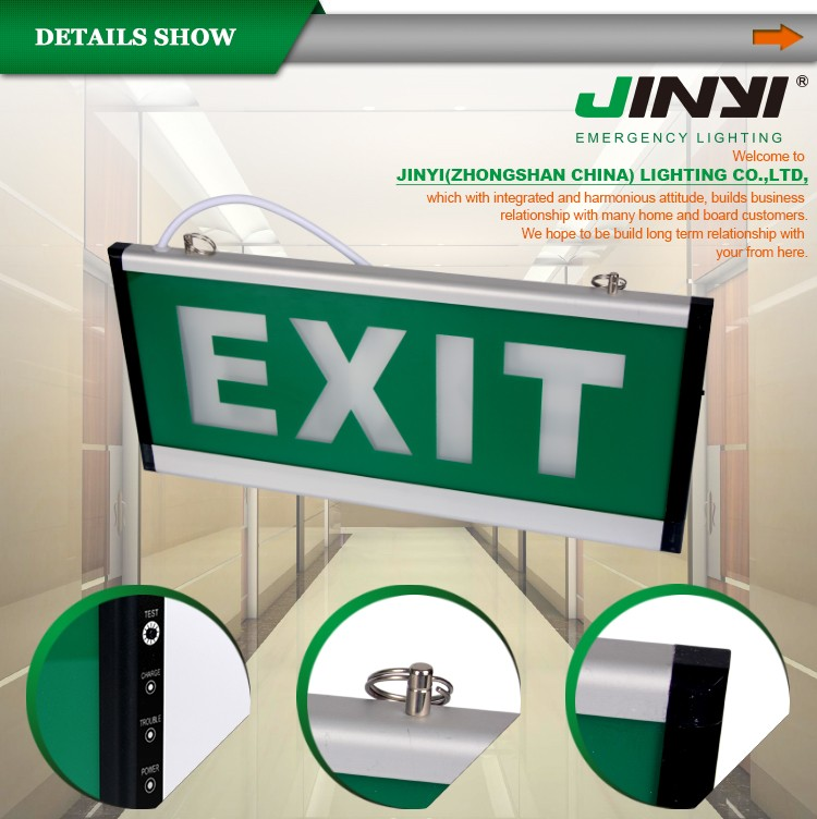 Led Emergency Exit Sign Board Manufacturers Zhongshan Exit Light ...