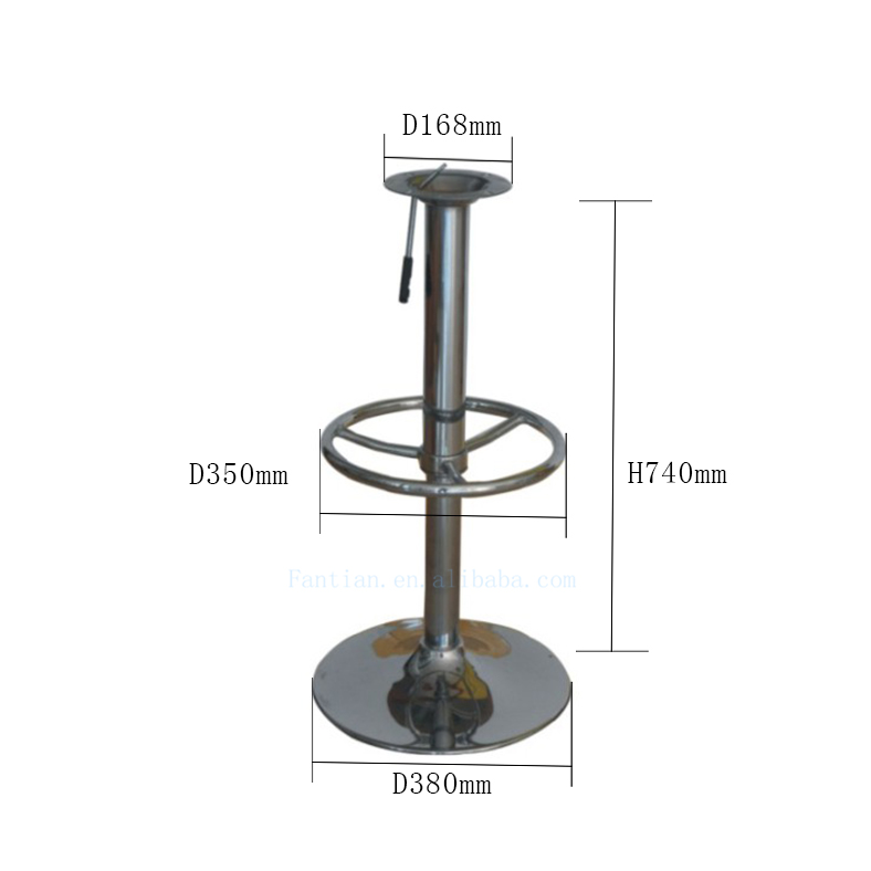 Pleasant Round Adjustable Iron Swivel Gas Lift Metal Bar Stool Base For Bar Chair Stool Buy Base Chair Bar Stool Base Metal Bar Stool Bases Product On Beatyapartments Chair Design Images Beatyapartmentscom