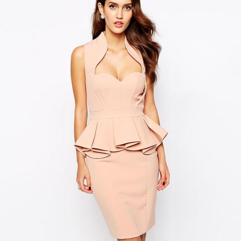 Cheap Hot Pink Peplum Dress Find Hot Pink Peplum Dress Deals On