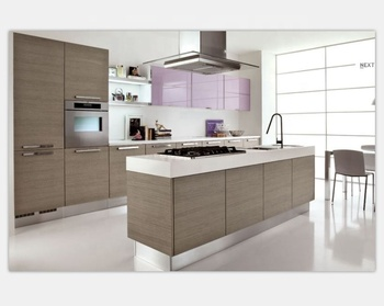 Melamine Membrane Modern Kitchens With Island Buy Kitchens Best