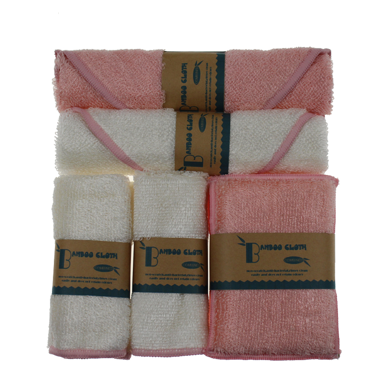 Microfiber Dish Rags: BANBOO Cleaning Cloth Home Kitchen Microfiber Washing Dish