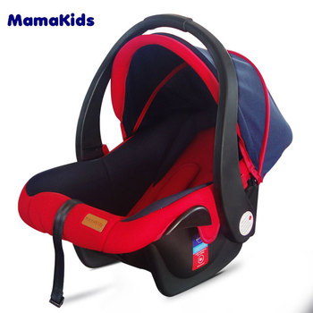 Foldable racing seat baby car seat, baby travel crib with carrier
