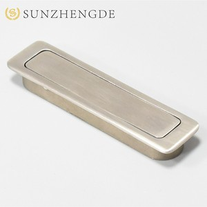 China Supplier square style stainless steel furniture handles concealed door drawer handle for cabinet