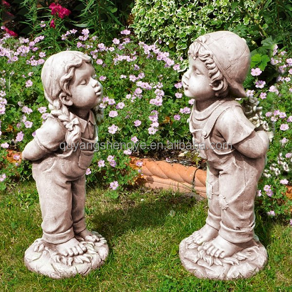 Little Girl Garden Statues, Little Girl Garden Statues Suppliers And  Manufacturers At Alibaba.com