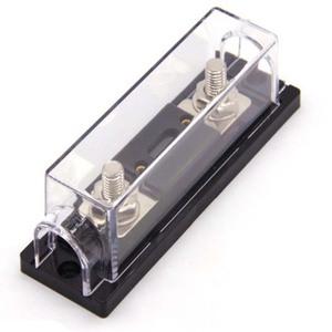 blade pcb automotive panel mount gold plated agu auto car audio anl fuse holder