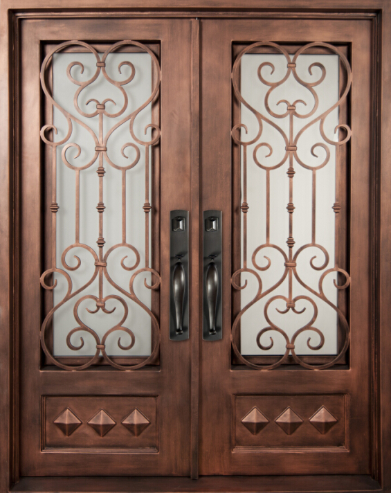 Door Iron Gate Design,American Panel Door,Main Door