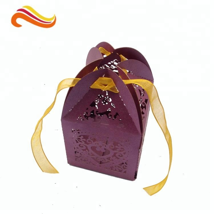 Custom Wedding Favor Box Party gift wedding chocolate packaging boxes candy box paper