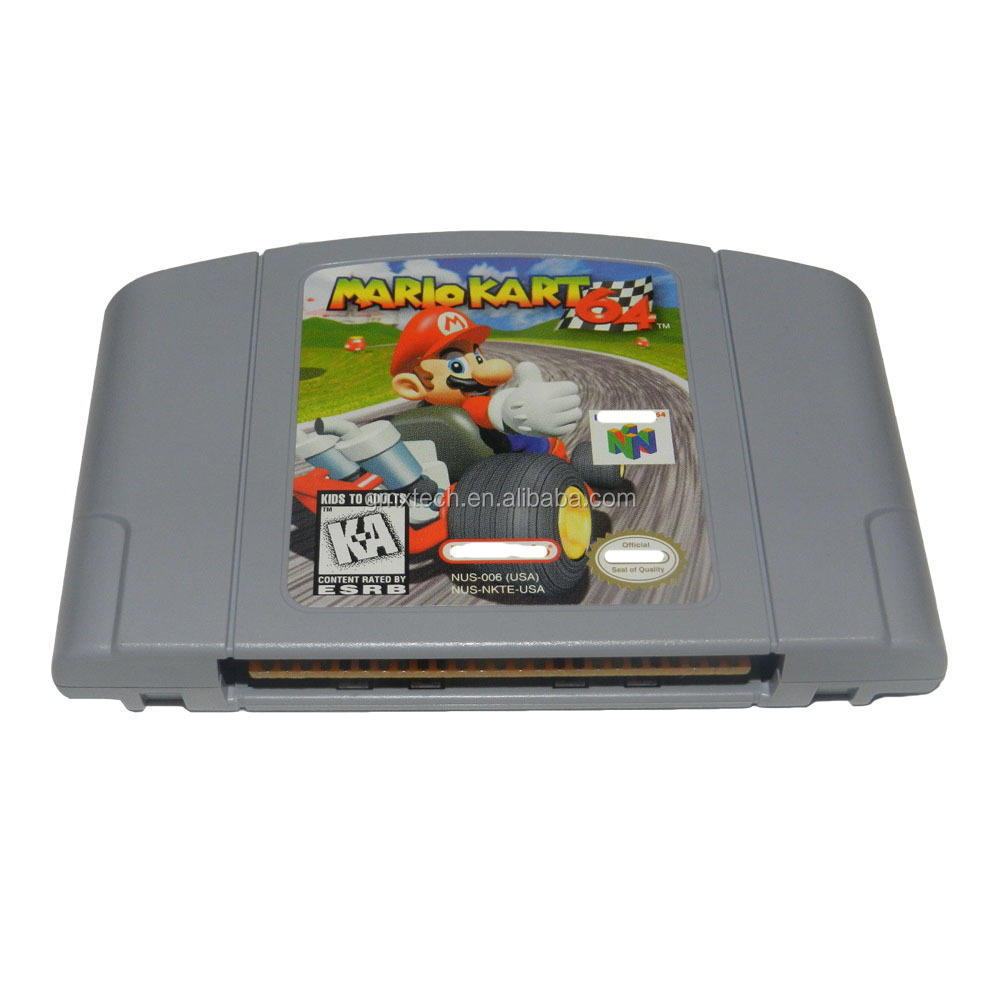 Video game cartridge N64 Mario Kart 64