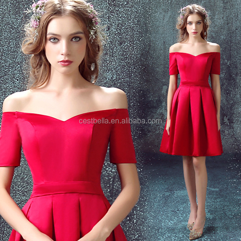 Alibaba wholesale Elegant T-length party dresses bridesmaid dress for young ladies