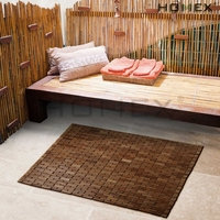 Luxurious Bamboo Bath Mat For Shower, Bath, Spa Or Sauna/Homex_BSCI