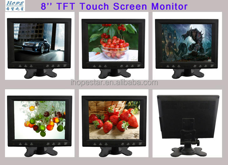 8.4 Inch Touch Screen LCD Monitor For medical treatment