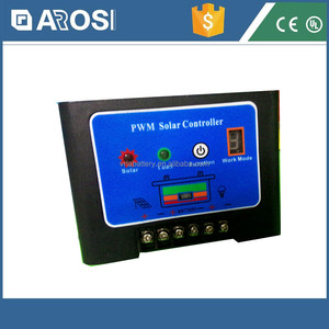 Arosi high quality 10A 24V controller charge controller 192 volt