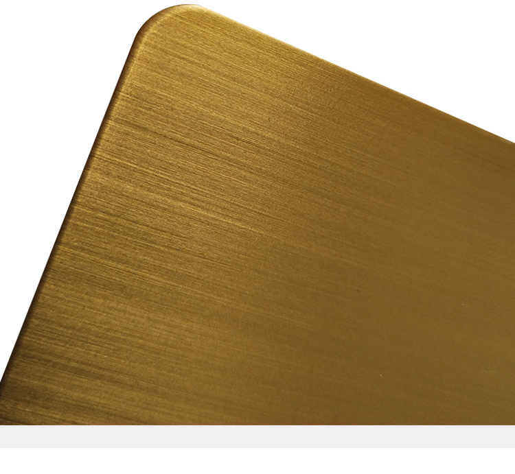 Wall Decoration 0.4Mm Gold Mirror Stainless Steel Sheet