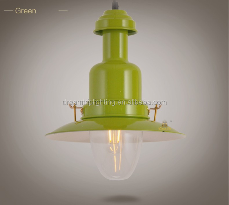 2016industrial lighting pendants vintage style clear cryatl pendant lamp loft light