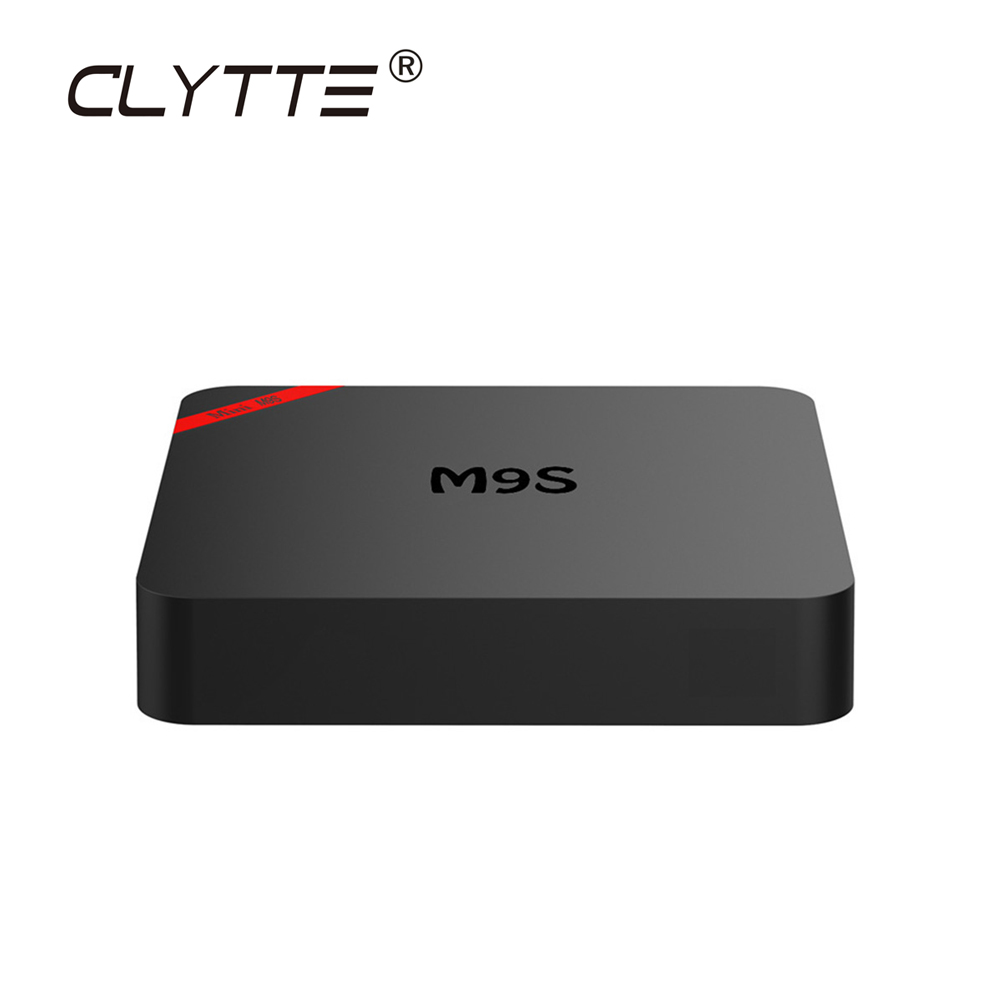Clytte M9 S MINI Android 7.1 TV 2G 16G Set-top Box Amlogic S905W Quad Core 64 bit WIFI 4 K tv satellitare ricevitore IPTV Smart Box