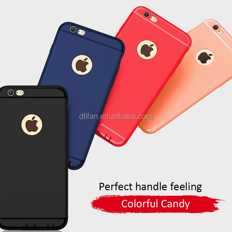 Matte TPU thin wholesale cell phone cases for iphone 6 ,slim soft tpu case for iphone 6 6s