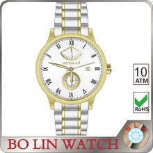 unisex watch/solid 316L stainless steel/japan movement automatic/sapphire glass/10 atm, watch automatic imported movement