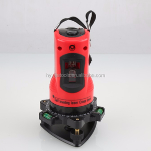 650nm Economic & DIY Self Leveling Laser Red beams Cross Line with two bubbles level
