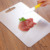 Food grade 18/8 304 stainless steel cutting board for kitchen dishwasher safe fit vegetables breads meats