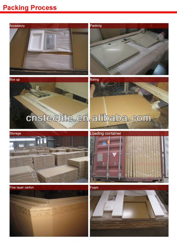 Home Furniture Steel 3 Door Cupboard/metal Sports Locker For Clothes
