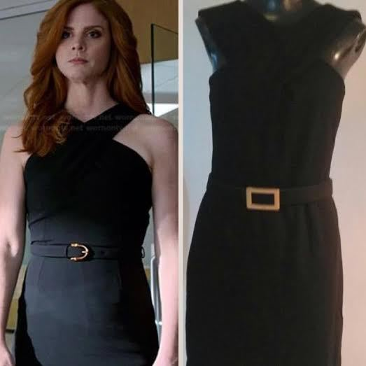 Black celebrity look a like dress worn on Suits