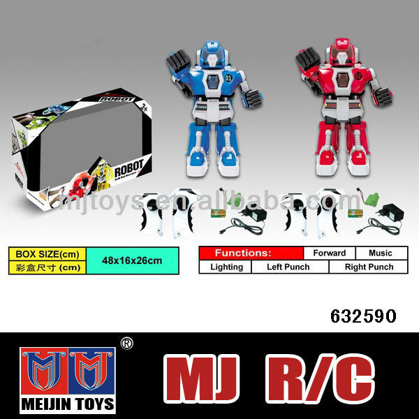 best robot toys 2013 4CH remote control fighting robot