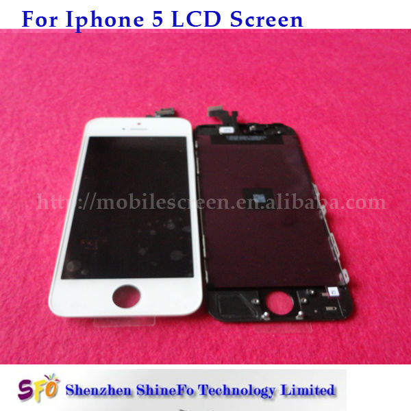 Cheap price replacement high quality lcd for iphone 5 repair