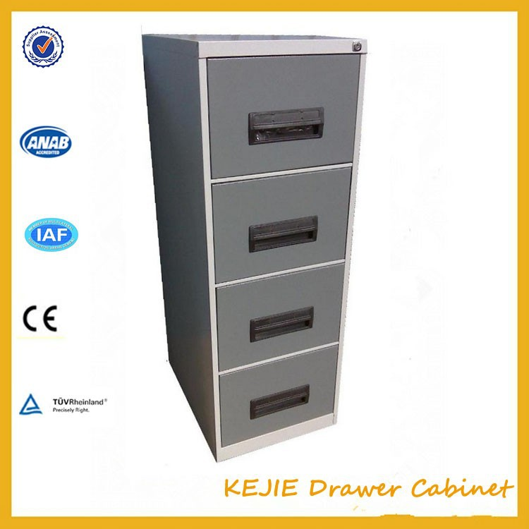 Charming China Modern Lovely Pattern 4 Drawer Cabinet Clothing Metal Drawer Cabinet  Steel Cupboard For Kids Bedroom