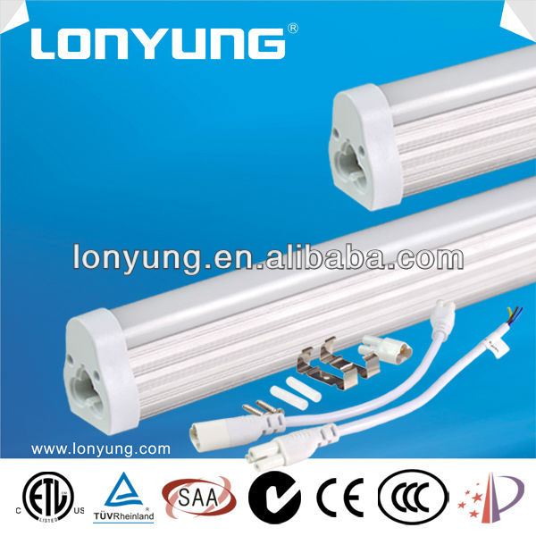 Low power consumption 2feet 3feet 4feet 6feet 8feet 12v T5 LED fluorescent tube light lamp