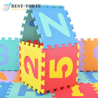 Best Today EVA Foam Puzzle Mat Numbers Style Puzzle Foam Mat