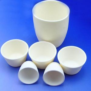 High quality temperature resistance al2o3 refractory alumina ceramic crucible