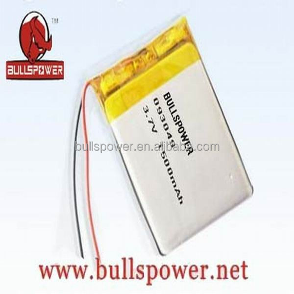 12v 5ah lithium battery pack 7.4 volt lithium ion battery 11.1v 1500mah lipo battery 093049