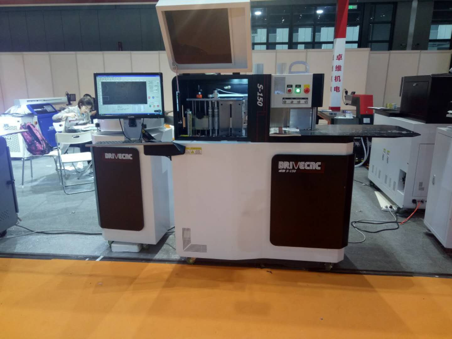 CNC Stainless steel bending machine auto channel letter bending machine