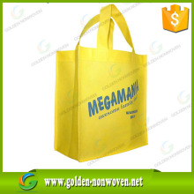 factory recyclable laminated non woven bag with good quality handle pp bags