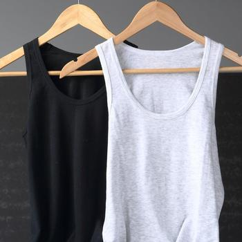 High Quality Quick Dry Ladies  Cotton Tank Tops Two Pieces